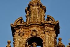 Detalhe da torre central da Catedral