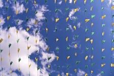 Bandeirinhas em Curvello