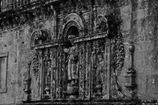 Alto relevo numa das laterais da Catedral
